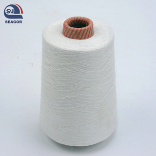 Dope Dyed 100% Polyester Ring Spun Textured Knitting Yarn Price