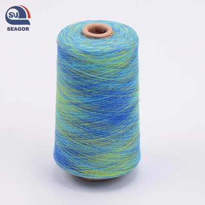 Colocful Section Dyed Space Dye Dyed Yarn
