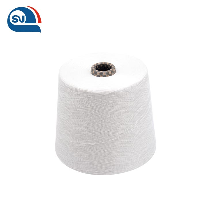 Mercerized Combed 100% Organic Cotton Tube Yarn for Knitting