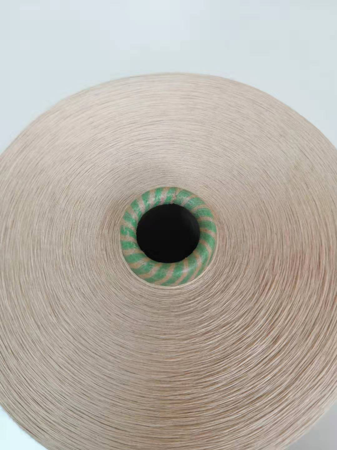 Aloe vera fiber yarn for knitting and weaving cloth and fabric