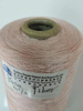 Rugosa rose fiber machine yarn for knitting and weaving
